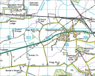 Hambleton map