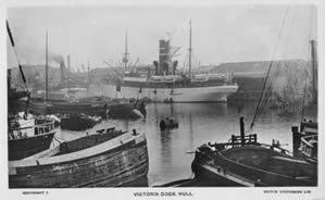 Victoria Dock Hull 1910