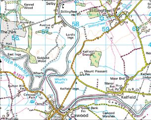 Kelfield map